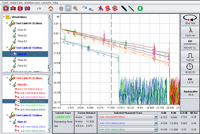 Click to access Free On-Line OTDR Simulation applicaction